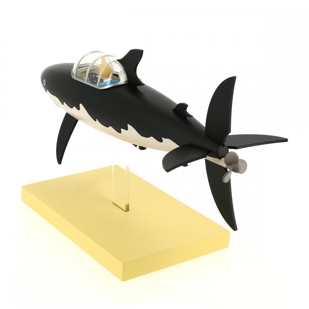 Figurine De Collection Moulinsart Tintin Et Milou Le Sous