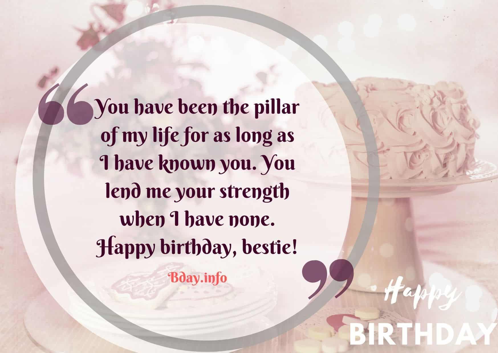 Birthday Wishes for Best Friend - Bday.info