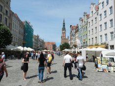in der Altstadt Danzig