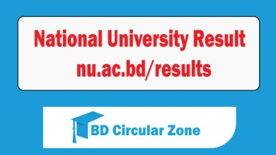 National University Result 2019 । nu.ac.bd/results
