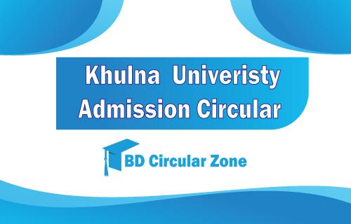 Khulna University KU admission circular 2019-20