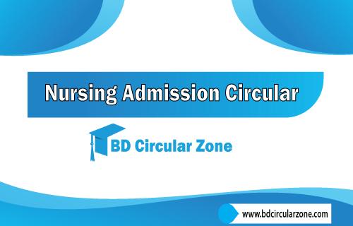 Nursing admission circular 2019-20