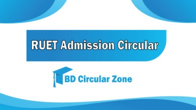 RUET Admission Circular 2019-20
