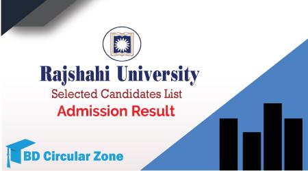 Rajshahi University RU Admission Result 2019–20