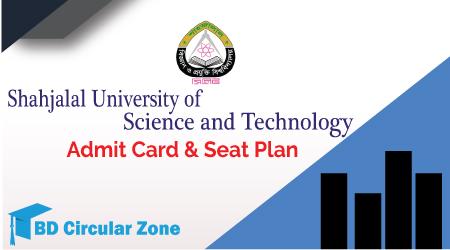 SUST Admit Card & Seat Plan 2019-20 PDF Download