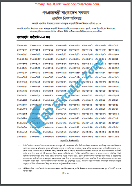 primary result 2019 PDF