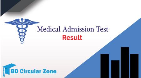 Medical Admission result 2019-20