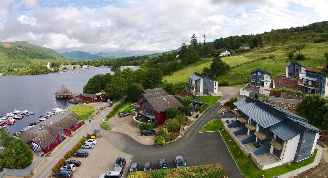 Taymouth Marina see Second Stage of Development Completed