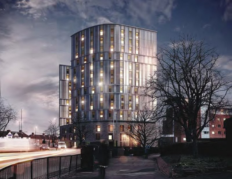 J Tomlinson Wins Coventry Student Accommodation Contract