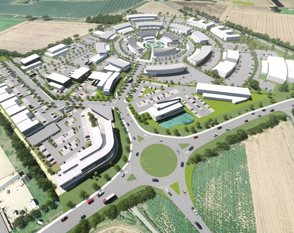 PEPPERMINT Junction, a road scheme representing the first stage of Peppermint Park - a 60,000 sq m food enterprise zone (FEZ) in Lincolnshire - has officially opened