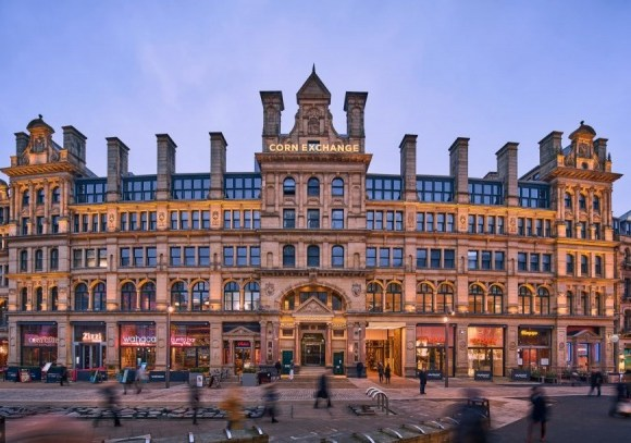 Manchester's historic Grade II listed Corn Exchange into a four-star hotel