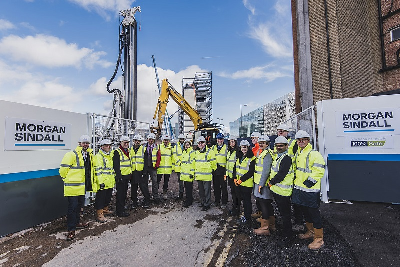 Leicester Regeneration Project Starts