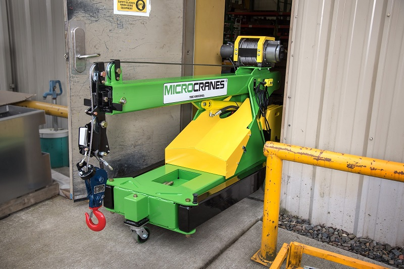 The ISO Certified Microcrane