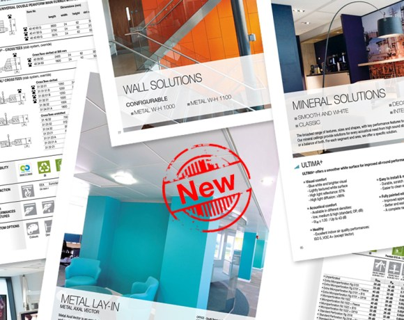 The ultimate guide to ceiling and wall solutions is now available from leading UK manufacturer Armstrong.