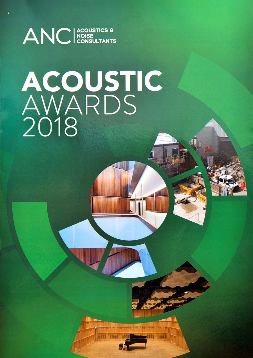 The Winners of the Acoustic Awards 2018