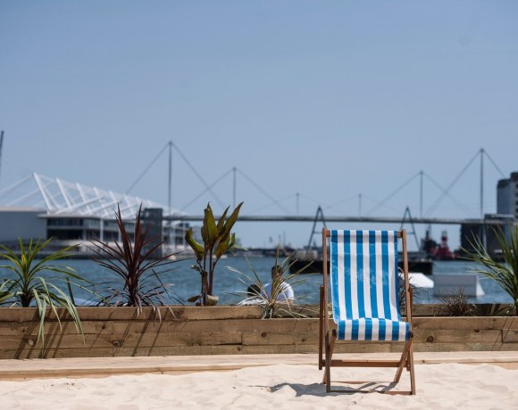 Planning/management specialist Bliss Events has set a precedent for the industry, designing and developing London's largest urban beach, at Royal Docks, to incorporate a swimming pool, which opens on July 18 for six weeks, and an August event space.