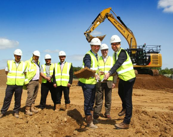 WORK has started on the brand-new UK headquarters for award-winning international power tools manufacturer Festool.