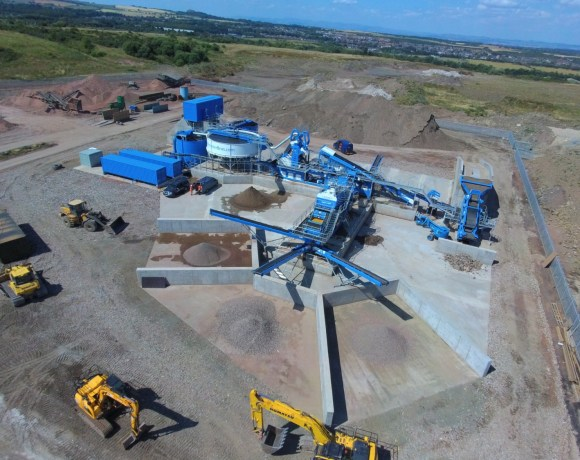 Brewster Bros, a family-run business in Livingston, is officially launching the largest recycling plant in the UK