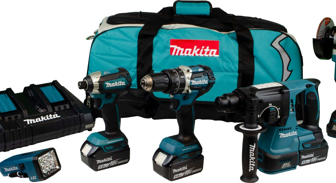 Makita, the UK's number one professional power tool manufacturer, has introduced two new 18V LXT 5-piece brushless kits which represent a substantial saving by comparison with individual purchases.