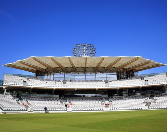 Marylebone Cricket Club (owner of Lord's Cricket Ground), has completed the first phase of their planned redevelopment with the construction of the Warner Stand at Lord's, adjacent to the existing Grade II Listed Pavilion, and opposite the iconic Media Centre.