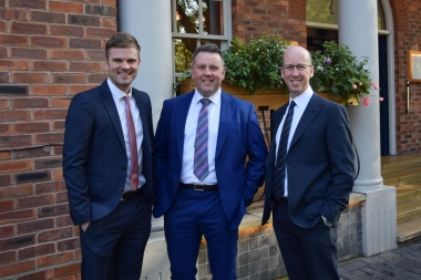 Ian Smallman has been named as the third former colleague to join Principle Estate Management in Birmingham.