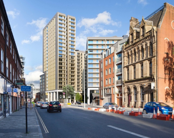 Horbury Facades, part of the Horbury Group based in Rotherham, South Yorkshire, has secured a contract with Sir Robert McAlpine worth £4 million to deliver a 'through-wall' solution on a new multi-occupancy residential development in Manchester.
