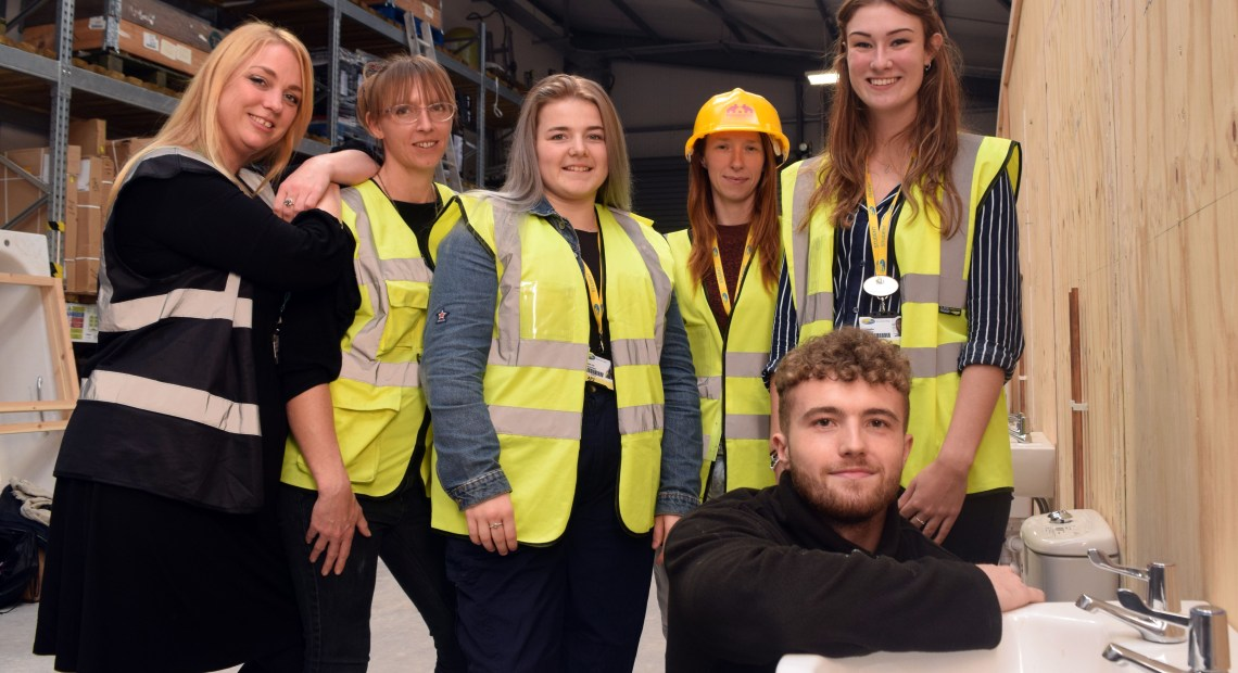 Local school and college students were given an insight into the wide variety of career opportunities available in building maintenance and construction at a special event organised by Magenta Living