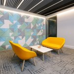 TODD Architects worked with the multinational property firm Savills to transform their new 5,500 sq ft headquarters at Longbridge House in Belfast's Cathedral Quarter, realizing a distinctive, spatially-efficient, and flexible workspace fit-out.