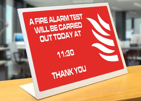 Do you manage a block (or blocks) fitted with a fire alarm system? If so, to remain compliant with British Standard 5839 you should be testing the system every week.