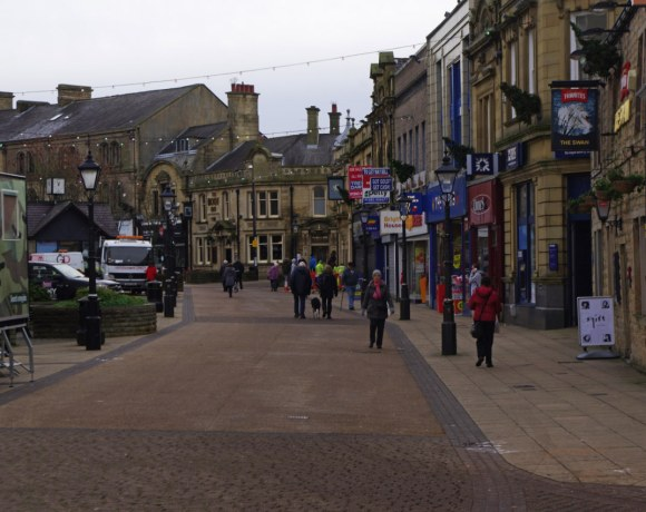 Burnley Town Centre Regeneration Plans