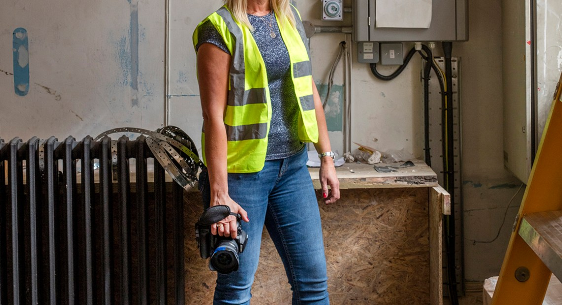 Women in Construction - Sarah Toon, architectural and construction photographer