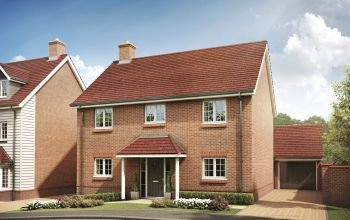 The Aldwych showhome at Bellway's Oakley Park development, off St Johns Way, is being unveiled to the public on Saturday, February 2.