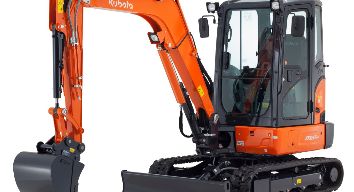 Kubota Launches New Excavator for 2019