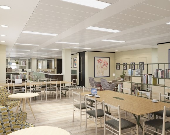 Fast-growing office fitout and design company Saracen Interiors has won the contract to transform part of a major office building into co-working space at the heart of Dundee's £1 billion waterfront regeneration project.