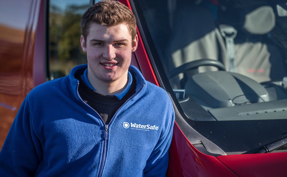 Getting paid to learn, the prospect of a secure job and not graduating with a large debt are just three of the reasons which led James McCall-Smith to an apprenticeship in plumbing.