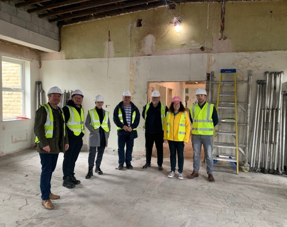Charity Reuben's Retreat has appointed Hadfield-based Building Projects Group Ltd to undertake the next stage in the development of the charity's forever home.