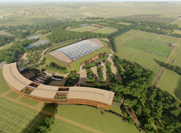 McLaren Builds Leicester City Training Centre