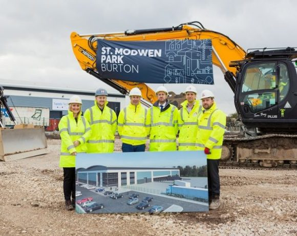 GMI Construction Group, a fast-expanding building and construction services company has announced that it has started construction of a 103,000 sq ft distribution unit at St. Modwen Park Burton