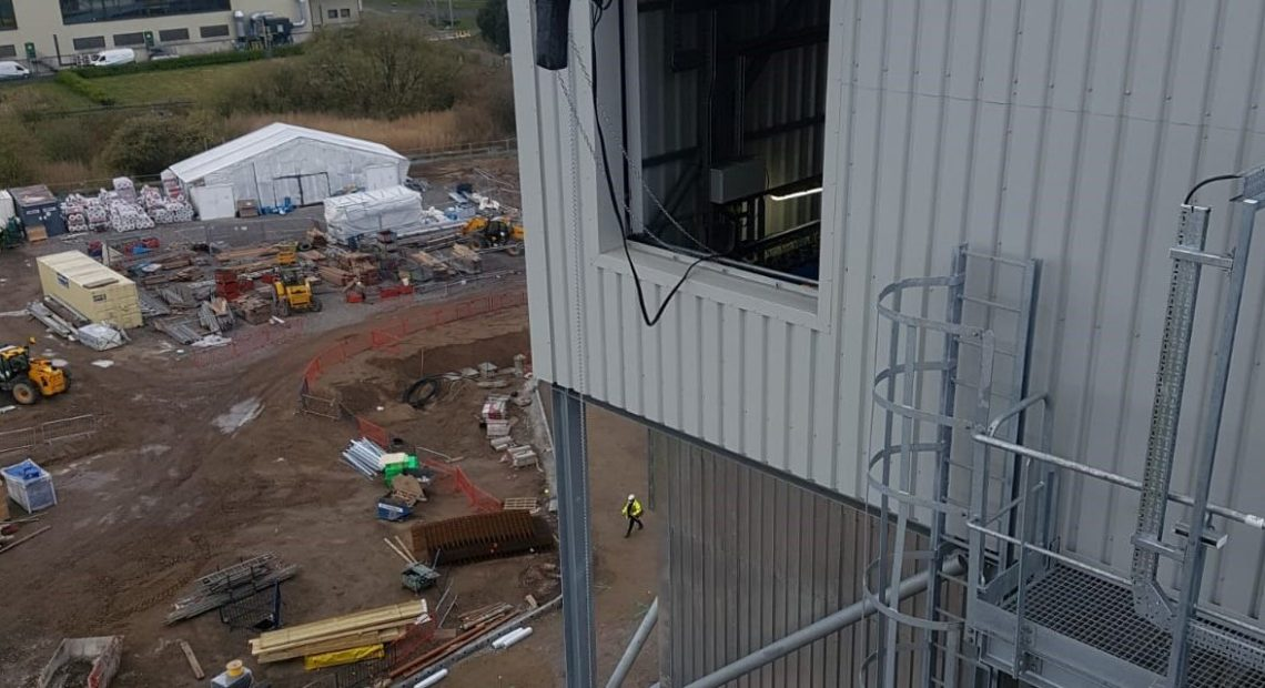 Wheelabrator Parc Adfer facility in Flintshire, North Wales this month (April), ahead of commencement of waste-to-energy operations later in the year. A major challenge separated the project from other similar testing works.