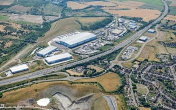 Construction work has started on a 55,000 sq ft industrial warehouse which is being developed on a speculative basis.