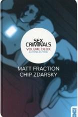 Couverture Sex criminals tome 2