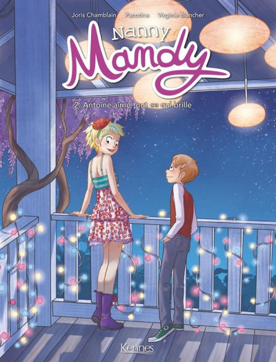 Couverture Nanny Mandy tome 2
