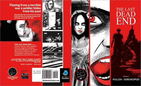 The Last Dead End Horror Comic Front and Back Cover