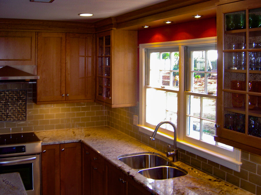BDM Residential Remodeling Atlanta GA Kitchens Transitional Maple