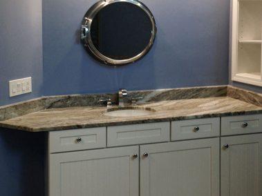 BDM-Residential-Remodeling-Atlanta-Modern Simulated Wood Tile Plank Bathroom