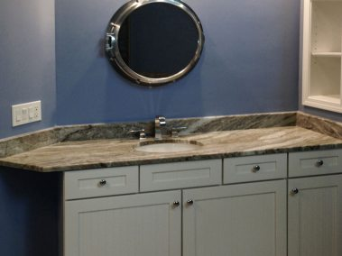BDM-Residential-Remodeling-Atlanta-Modern Simulated Wood Tile Plank Bathroom