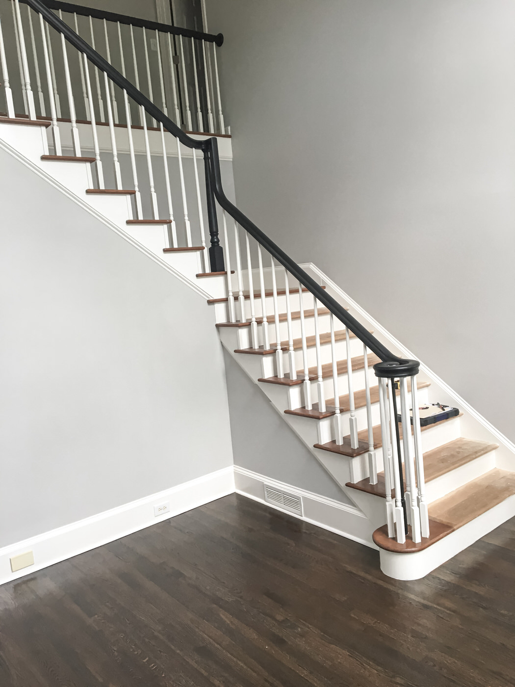 Staircase & Hardwood Flooring