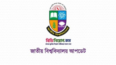 Photo of National University MPhil, PHD, MAS, Adv MBA Admission Circular 2020