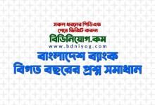 Photo of Bangladesh Bank Question Solution PDF (2001-2019) | বাংলাদেশ ব্যাংক প্রশ্ন সমাধান