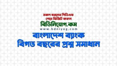 Bangladesh Bank Previous Year Question Solution PDF